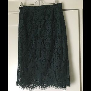 NWT Skies are Blue Inez Lace Skirt